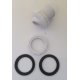 QUIPMASTER / FILTRITE 5115000 Eyeball Assy with locknut and Washers to suit Fibreglass & Vinyl pools
