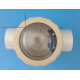 Pentair Onga 702480 Swing Check Valve 40mm PVC Clear lid