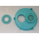 Kreepy Krauly KK70 vacuum plate with anti vortex Washer 230mm to suit Poolrite and Quiptron skimmers